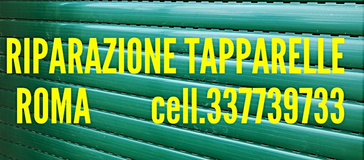 Tapparelle Centocelle cell.337739733