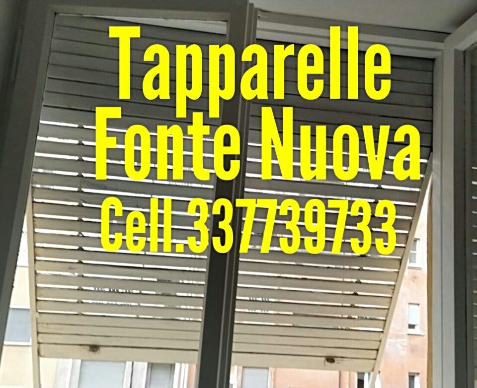 Riparazione Tapparelle Serrande Elettriche Fonte Nuova cell.337739733